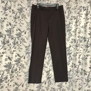 FOREVER 21/Brown Straight Leg Trousers/SZ 10